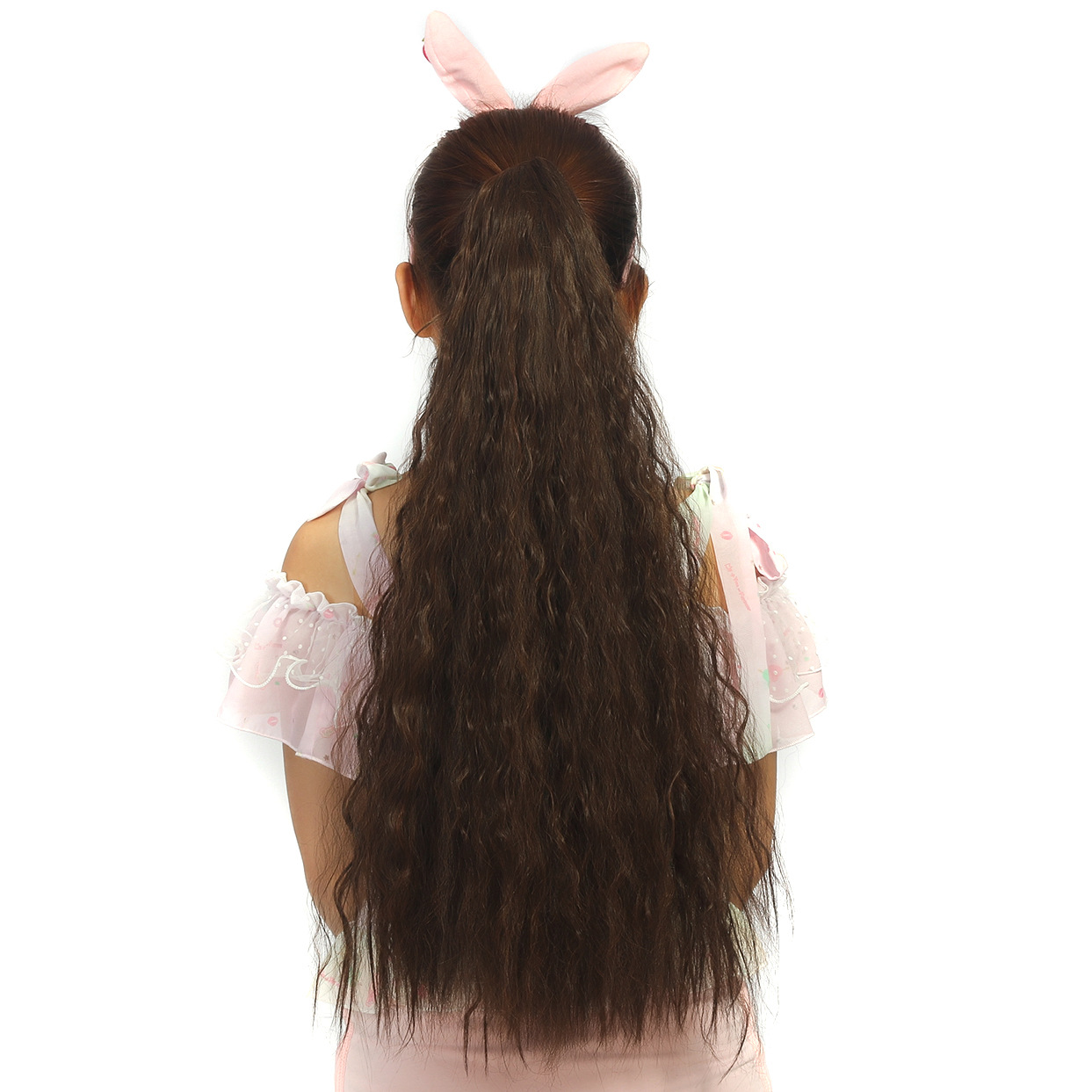 High quality fashion hairwear 180g 65cm curly hair accessories extension synthetic hair  ...