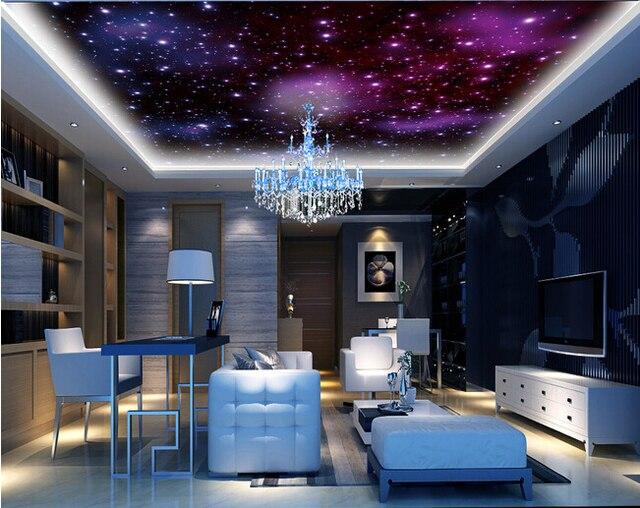 Benutzerdefinierte Universum Tapete Der Sternenhimmel Und Universum - Schlafzimmer sternenhimmel