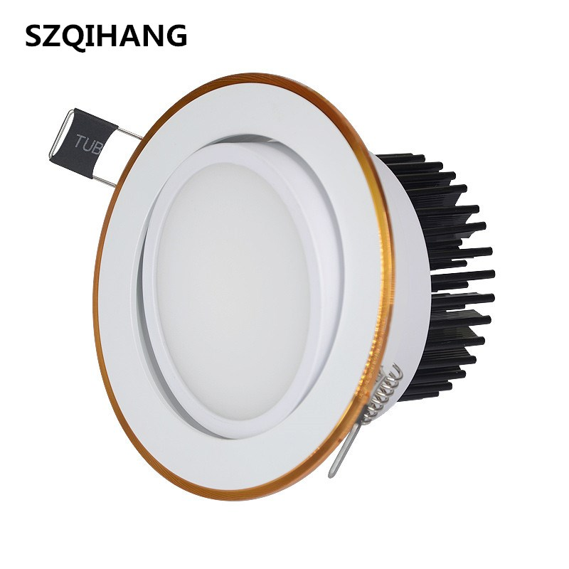 Super Bright Dimmable 7w/10w/15w/20w Led Downlight Light Cob Ceiling Spot Light Ceiling Recessed Lights Indoor Lighting