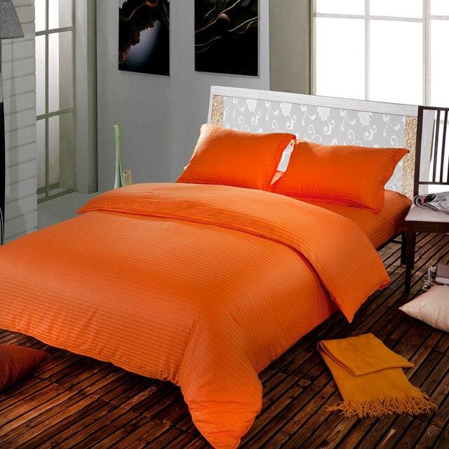 Hotel Bettwäsche Set/bettbezug/Tagesdecken/schlafzimmer Sets/bettbezug Set/ Orange Bettwäsche