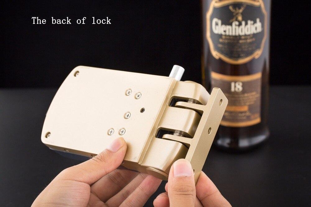 HTB1ht5YdWLN8KJjSZFKq6z7NVXa2 Wafu 010 Wireless Electronic Door Lock Keyless Invisible Intelligent Lock With Touch Locked&Unlock Button 4 Remote Control Keys