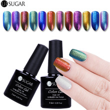 UR Sugar 7.5ML Chameleon Salon UR 01-12 Gel Nail Polish Nail Art Nail Gel Polish UV LED Chameleon Long-Lasting Glue