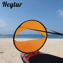 Heytur Wind Sail Kit 42 inches Kayak Canoe Accessories, Easy Setup Deploys Quickly, Compact Portable