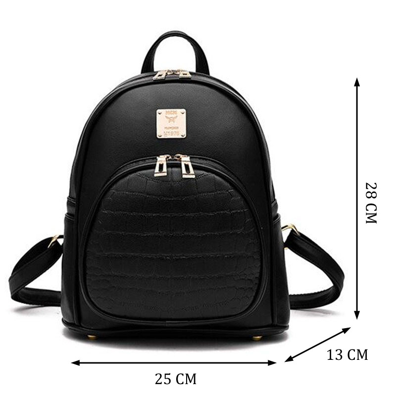 novo estilo simples mulheres mochila New Estilo : Backpacks For Teenage Girls