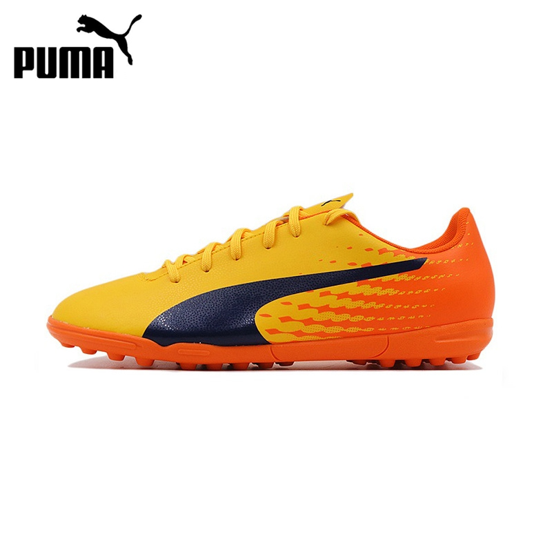 Original New Arrival 2017 PUMA evoSPEED 17.5 TT Men's Football/Soccer Shoes Sneakers tiebao a13135 men tf soccer shoes outdoor lawn unisex soccer boots turf training football boots lace up football shoes