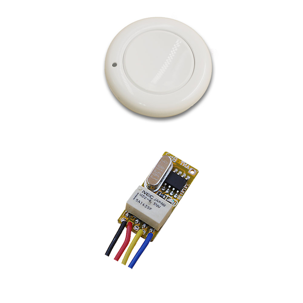 New Top DC3.5V 5V 7V 9V 12V Relay 1CH Wireless RF Mini Remote Control Switch Transmitter with Receiver Light Switch Accessaries high sensitivity small remote relay switch dc 3 5v 12v mini receiver with transmitter normally open close wireless switch top