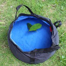 8.5L Outdoor Folding Camping Washbasin Fishing Travel Picnic Water Holder Bag Ultra light Basin Bucket Portable Survival Tool