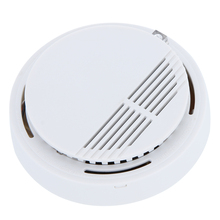 High Sensitivity Fire Smoke Alarm Sensor Standalone Photoelectric Smoke Detector Home Security System For Home Kitchen 9V BATTEY