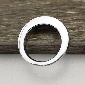 16mm chrome Kitchen cabinet handle knob silver drawer dresser cupboard bedside table furniture hardware handles knob rings knobs