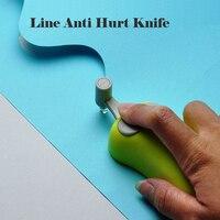 High Quality Anti Hurt Diy Scrapbooking Ceramic Cutter Head Paper Line Knife Paper Cutter Free Shipping