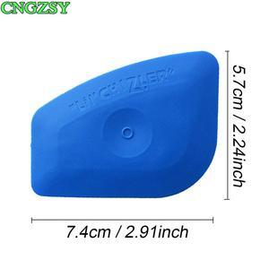 Image 2 - 20PCS Multilateral Soft Blue Scraper LIL CHIZLER Squeegee Window Tint Tools Vehicle Film Corner Plug Glass Decal Tools 20A25B