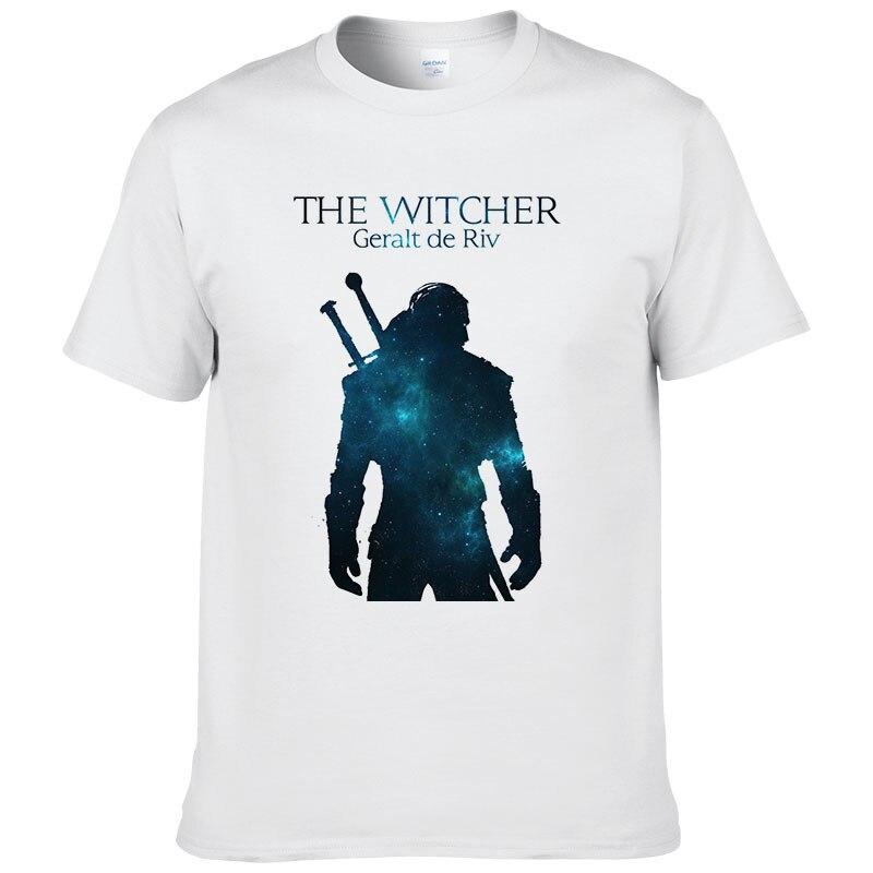The Witcher 3 T Shirt Summer Men Women Cs