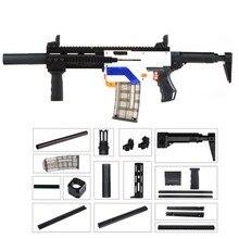 WORKER Lightweight 3D Printing Modularized Mod F10555 Pump Kit Barrel Jaket Combo 11 Items for Nerf Retaliator Toys for Children
