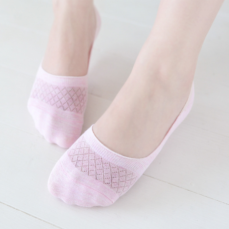 10pcs=5pair  Ankle Socks New Hot Sale Summer Style Women Low Socks Brand Quality Invisible Cotton Socks Slippers Ms mesh socks