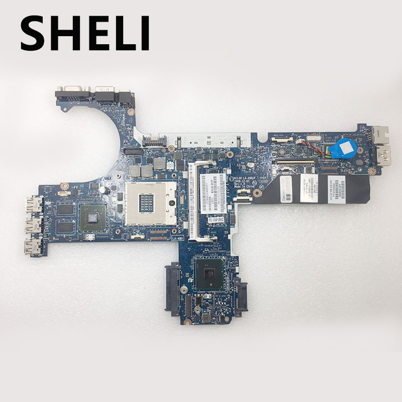 SHELI FOR HP LA-4901P 594027-001 motherboard Elitebook 8440P 8440W laptop motherboard DDR3SHELI FOR HP LA-4901P 594027-001 motherboard Elitebook 8440P 8440W laptop motherboard DDR3