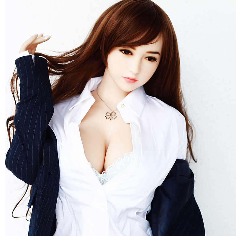 tpe168cm Real Silicone FOR Men Sex Doll Breast Ass