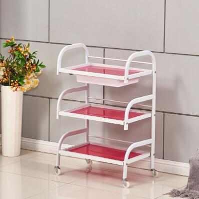 Beauty salon cart three layers with drawers beauty salons small carts nail shelves glass tool car куртка утепленная strellson strellson st004emwdw33