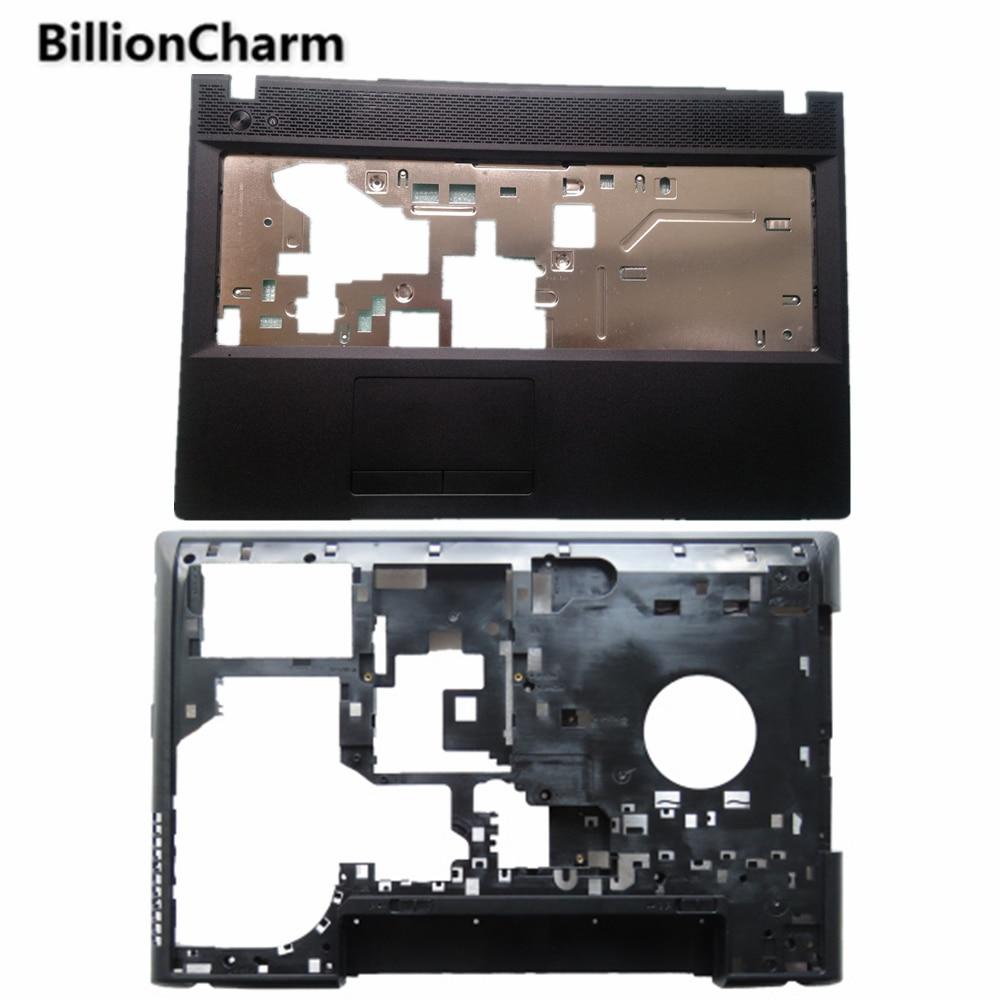 NEUE Für Lenovo G500 G505 G510 G590 Laptop Vorder Abdeckung Palmrest ABDECKUNG/Bottom Fall Basis Abdeckung Schwarz Serie Laptop