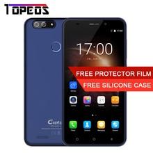 Gretel S55 5.5 pulgadas Quad Core Android 7.0 Teléfono Móvil 1 GB MT6580A 1.3 GHz RAM 16 GB ROM 8MP Dual CAM WCDMA GPS Smartphone