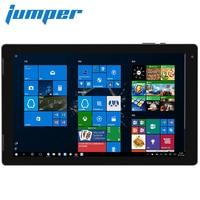 Джемпер EZpad 7 2 в 1 Tablet PC 10,1 ''ips Экран Windows 10 четырехъядерный процессор Intel Cherry Trail z8350 1,44 ГГц 4 ГБ + 64 ГБ HDMI для ПК и планшетов