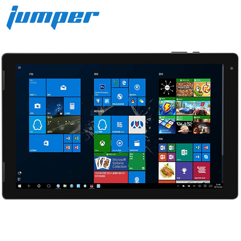 Jumper EZpad 7 2 In 1 Tablet PC 10.1'' IPS Screen Windows 10 Intel Cherry Trail Z8350 Quad Core 1.44GHz 4GB+64GB HDMI Tablets PC pipo x6s mini pc 4gb 64gb wifi intel cherry trail windows 10