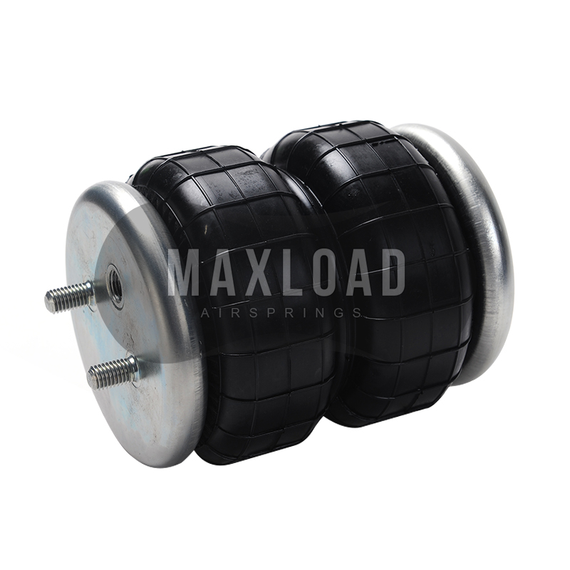 128J 2B Bolt M8 M10 3 8 Air inlet 1 4NPT G1 8 Dia 128mm Rear air suspension airspring double convolute pneumatic parts air in Shock Absorber Struts from Automobiles Motorcycles