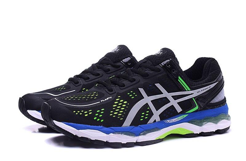 8d003aefc22d6 ASICS GEL KAYANO 22 zapatillas de deporte originales para hombre con estabilidad  para correr zapatos deportivos transpirables para correr en Zapatos para ...