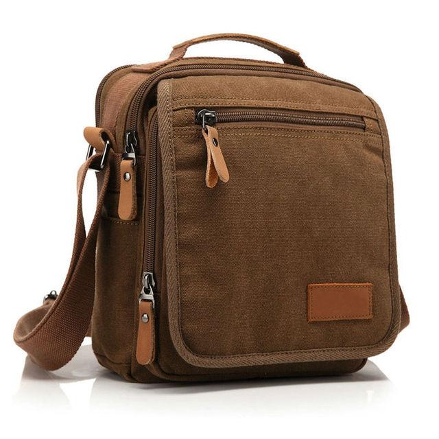 8a03dcf15c4c Vintage Casual Canvas Shoulder Bag Men Crossbody Bag Women Messenger Bag  Canvas Men s Bag Tote Free Shipping