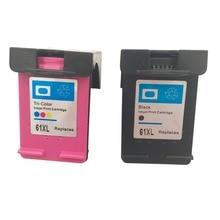 Новый Высокое качество Чернильный Картридж для HP 61XL/61 для Officejet J110a j210a j310a j410a 1000 2000 1510 2540 4500 2600 1050 2050