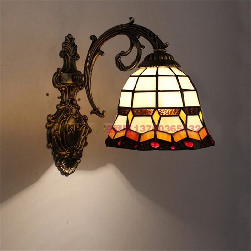 Modern Home Tiffany Restaurant Glass Wall Lamp Color Glass Coffee Shop Light Bar Light Living Room Lamp Free ShippingModern Home Tiffany Restaurant Glass Wall Lamp Color Glass Coffee Shop Light Bar Light Living Room Lamp Free Shipping