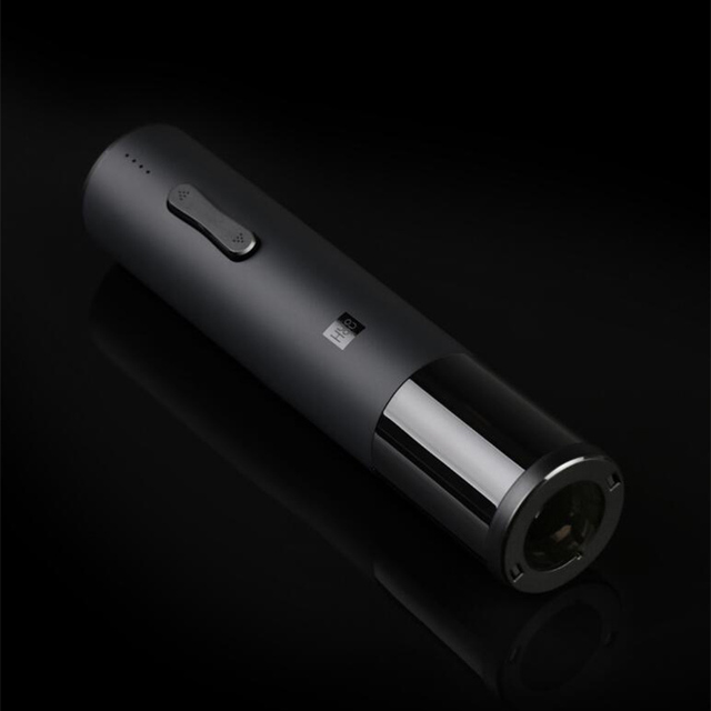 Xiaomi Mijia Huohou Automatic Red Wine Bottle Opener Electric Corkscrew Foil Cutter Cork Out Tool 6S Open 550Mah Battery Smart Remote Control