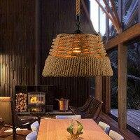 Loft Nordic Retro Creative Pastoral Clothes Shop Cafe Hepherd Bar Pendant Lamp American Village Chandelier For