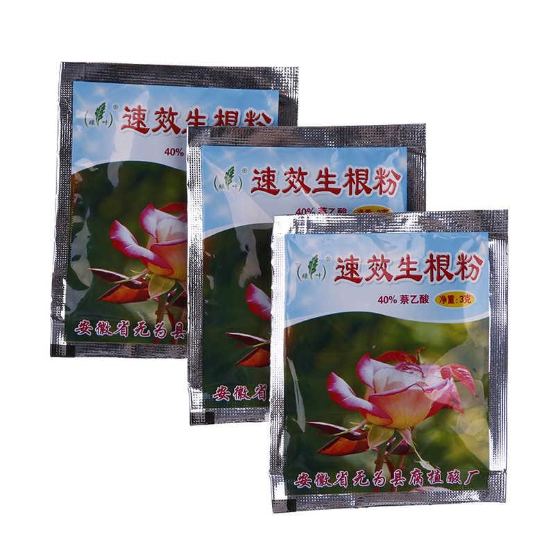 3 uds. Extra rápido Abt planta de raíz Flor de trasplantes fertilizante crecimiento de la planta mejora la supervivencia
