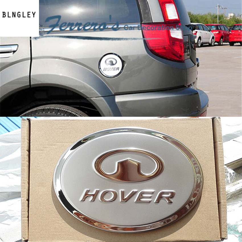 Free shipping car sticker stainless steel fuel tank cap decorate the sequins for Great Wall HOVER H3 H5 high quality high quality irregular letters pattern removeable wall sticker