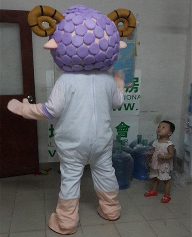 Antilope mouton Mascotte Costume Halloween noël anniversaire célébration carnaval robe Cosplay thème Mascotte carnaval Costume - 3