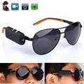 Mini Filmadoras Esporte Eyewear Óculos De Sol Com Câmera HD Óculos de Vídeo e Gravação de Voz Motion Dection Lentes Olho Espia Como Webcam