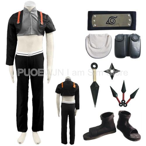 Hot Naruto Sai Cosplay Costume Halloween Costume Full Set