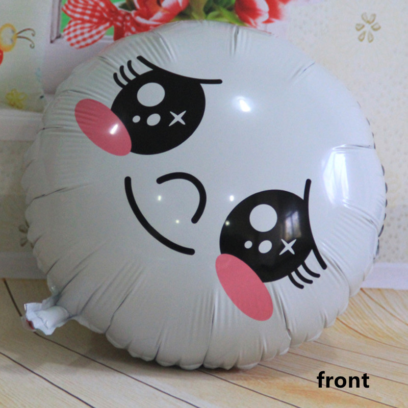 Air balls Mantuen foil Balloons round helium balloons Happy Birthday balloons we