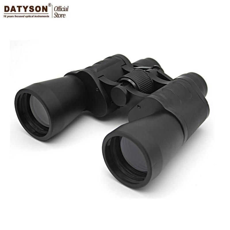 Datyson 10x50 jumelles professionnel télescope de chasse haute qualité Vision BAK4 lentille oculaire pour pêche longue-vue