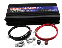 Pure Sine Wave Car Power Inverter 4000W Dc 24v To Ac 220v Car Converter Inverters For Solar Boat Home Appliances