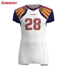 Kawasaki Custom Sublimatie American Football Jersey Top Mannen Usa Collage Praktijk/Racing Voetbal Shirts Jersey Plus Size