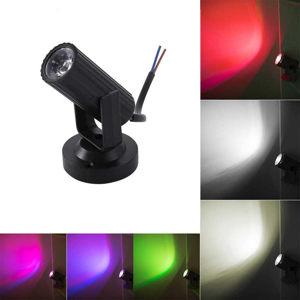 1 pcs RGB LED זרקור שלב אור מיני DJ דיסקו בר KTV המפלגה שלב תאורת אפקט חתונה להראות