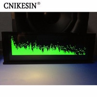 CNIKESIN 5 5INCH AS256 Professional Music Spectrum Display Car Amplifier Audio Conversion OLED Full Band Level