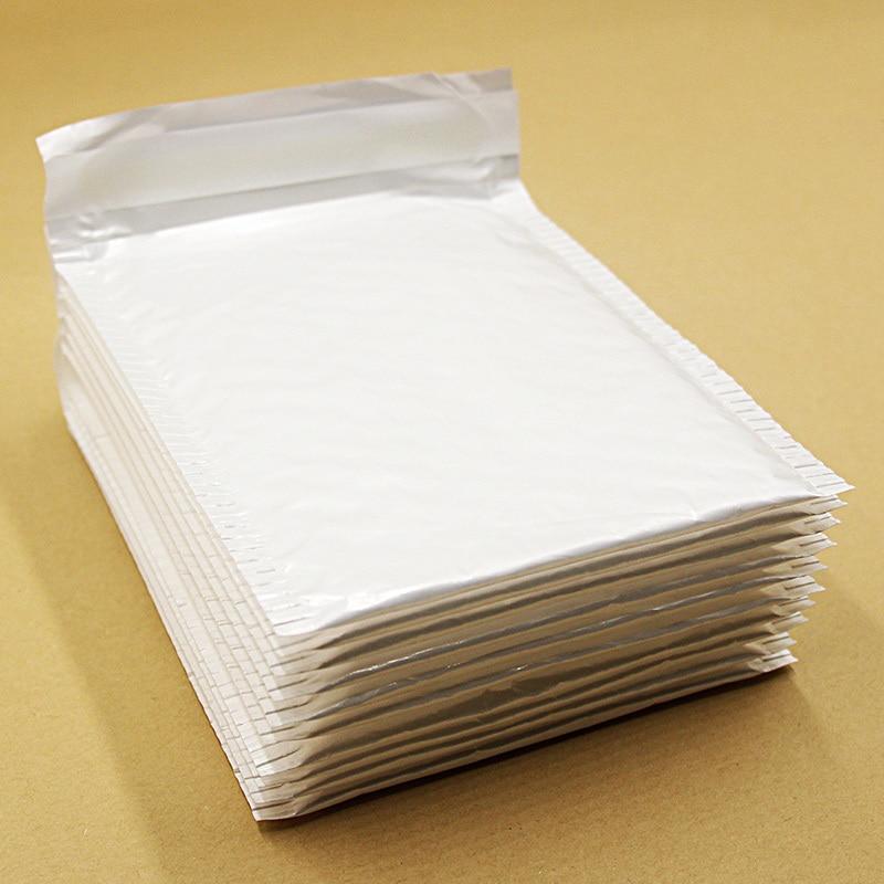 10 PCS 14*16cm Waterproof White Pearl Film Bubble Envelope Mailing Bags Anti-shock Anti-pressure Anti-static