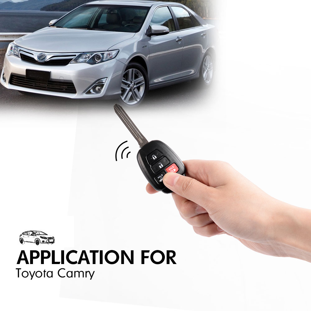 new for 2012 2013 2014 toyota camry keyless entry remote head keynew for 2012 2013 2014 toyota camry keyless entry remote head key fob hyq12bdm on aliexpress com alibaba group