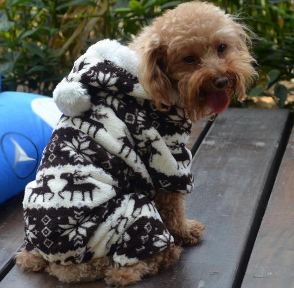 Aliexpress.com : Buy Fashion dog Clothes New Coral Fleece ...