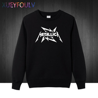 Metallica Hard Metal Rock Band Men S Sweatshirts For Men 2018 New Hoodies Cotton Casual Pullover