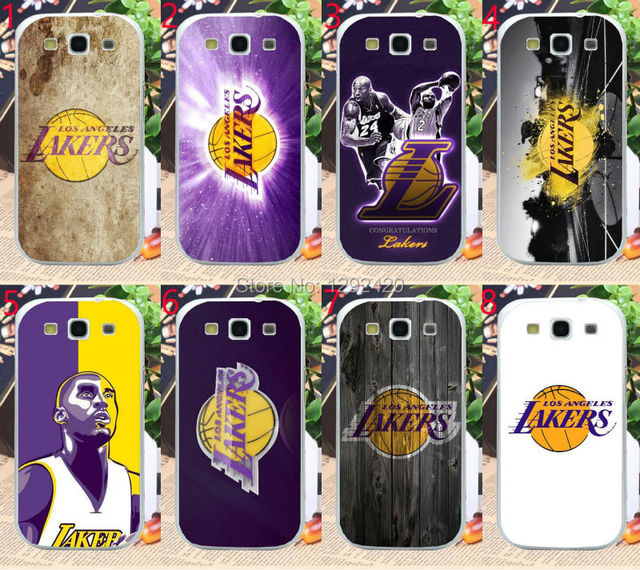 The lakers  Hard Transparent Clear Skin Case for Samsung S5 S4 S3 S6 S6 Edge S7 S7 Edge  Grand Prime