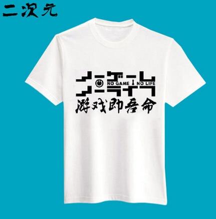 Anime NO GAME NO LIFE Clothing Sweatshirt 13 styles different colors cosplay costume tshirt lolita man women tshirt tee
