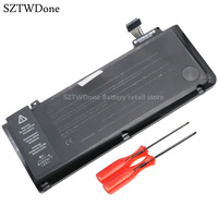 Free Shipping A1322 Laptop Battery For APPLE MacBook Pro 13 A1278 MB990 MB991 MC700 MC374 MD313
